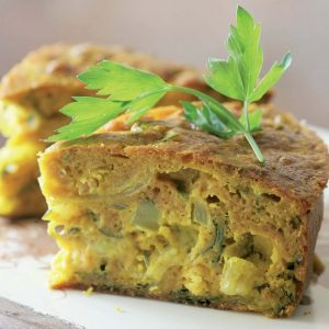 Торт с рубленой рыбой и карри — какая же вкуснятина…!