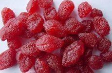 Цукаты из клубники — очень ароматные и сладкие!