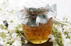 Варенье из цветов белой акации — янтарное, с нежной приятной кислинкой…!