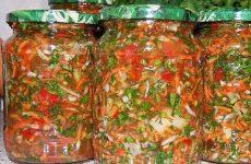 Заправка для супа на зиму — готовить одно удовольствие!
