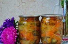 Зимний салат «Московский»