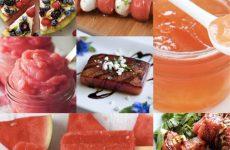 7 идей, как превратить арбуз в полноценное блюдо!