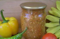 Аджика острая из помидоров и чеснока — для любителей остренького!