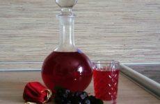Ликер из черной смородины — вкусная и ароматная!