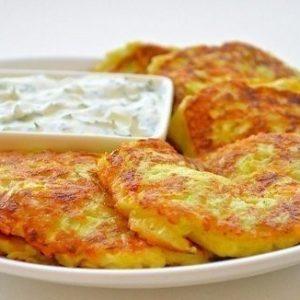 Оладьи из кабачков с сыром и чесноком — неповторимый аромат и вкус!