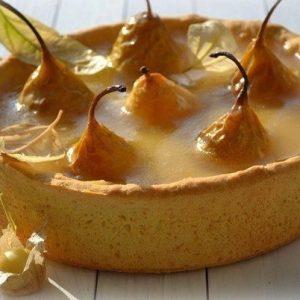 Пирог «Груши в хрустале» — что то невероятное…!