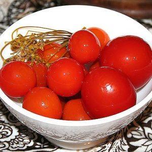 Сахарные помидорки — ох, какой же это прекрасный закусон!