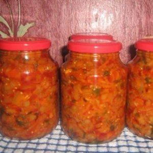 Кубанский салат — простой и очень вкусный салатик!