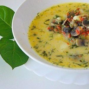 Грибной сливочный суп — мало кого оставит равнодушным!