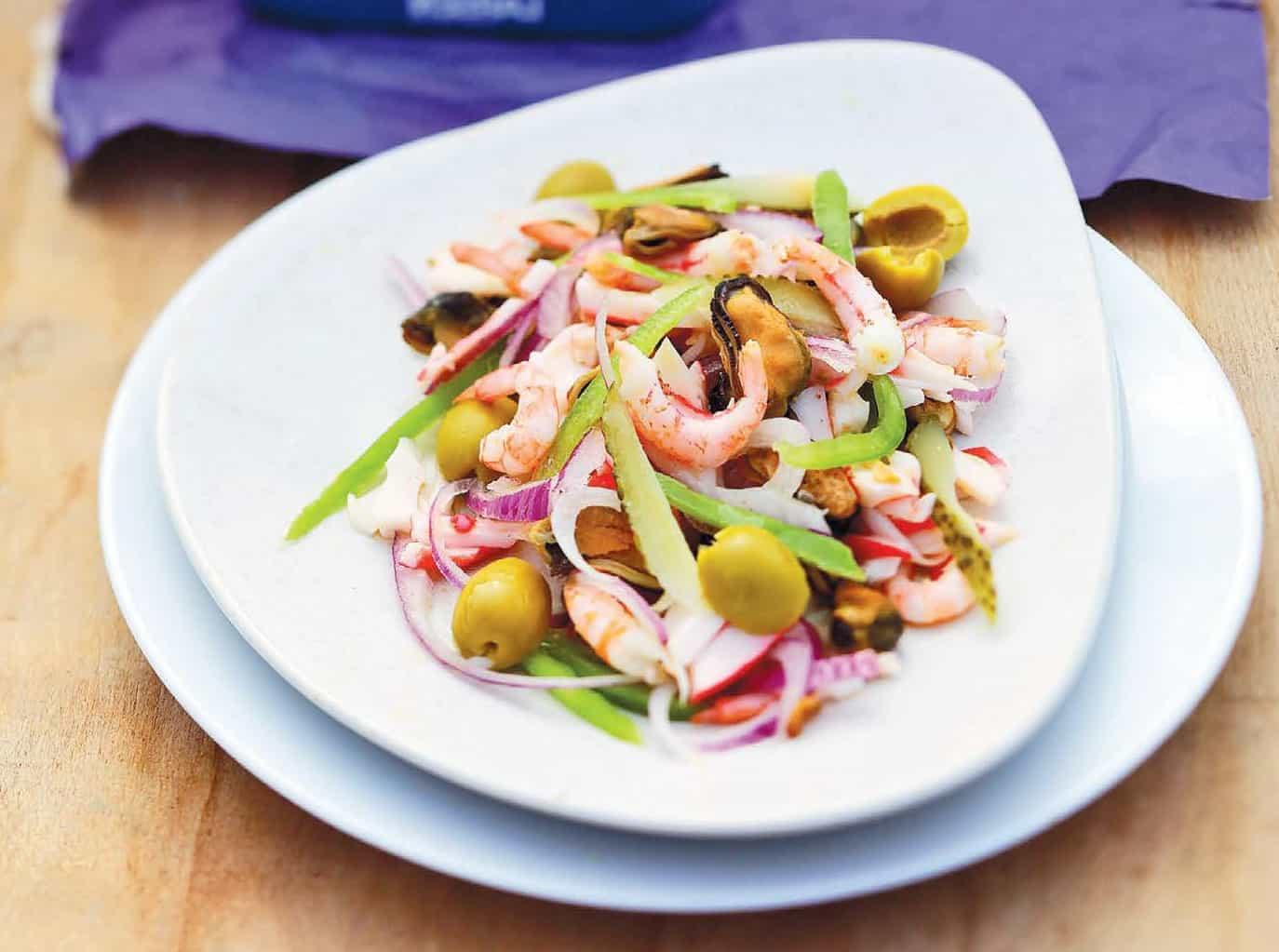 зеленые салат морской коктейль рецепты с фото галерея