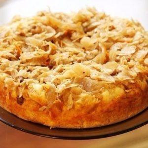 Пирог с капустой — просто тает во рту!