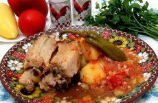 Жаркое из свиных рёбрышек — очень вкусное и ароматное блюдо!