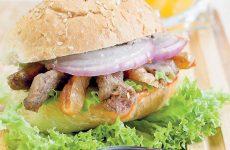 Гамбургер с уткой и инжиром — невероятное сочетание!!!