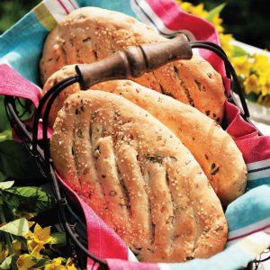 Лепешки с чесноком и петрушкой — выручают всегда!