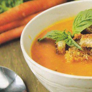 Морковный суп-пюре — красивый и полезный суп!