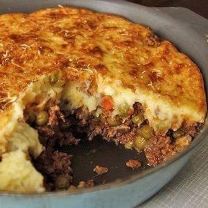 Английский пастуший пирог — такая вкуснятина!