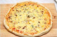 Пицца с фаршем «по-домашнему» — вкусная пицца!