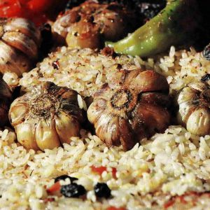Плов по-фергански — вкусное блюдо азиатской кухни!
