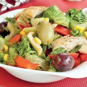 Салат по-мексикански — очень яркий салат!!!