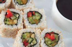 Японский ролл с овощами — доступно, вкусно и просто!
