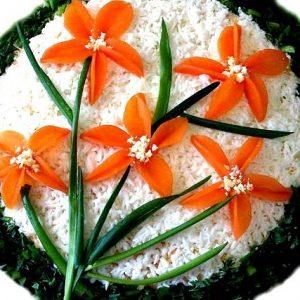 Салат «Нарциссы» — салатик с весенним настроением!