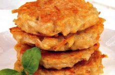 Оладьи картофельные — это быстрый обед или ужин на скорую руку!