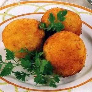 Крокеты из картофеля и сыра — красивое и нарядное блюдо!