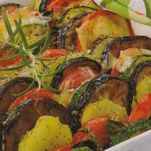 Запеченные овощи в духовке с сыром — простой и вкусный вариант!