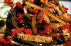 Овощное рагу с курятиной — легкое и сытное блюдо!