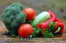 Заливные овощи — интересный рецепт!