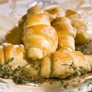 Рогалики, или хлебцы по французски — традиционный французский завтрак!