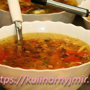 Суп овощной с вермишелью — рецепт, который таит в себе нераскрытые возможности!