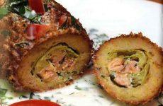 Фаршированные рыбные рулетики — необычное рыбное блюдо!