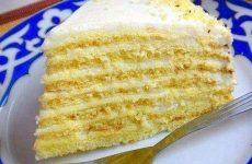 Торт «Молочная девочка» — необычайно нежный и вкусный!