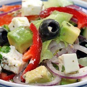 Салат и авокадо — блюдо для настоящих гурманов!