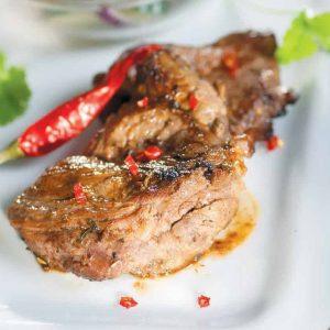 Острые отбивные из говядины — отличный ужин или…