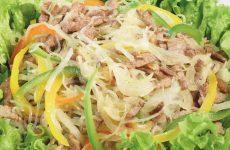 Салат с телятиной — все просто, быстро и очень вкусно!