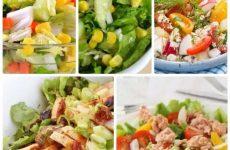 5 рецептов овощных салатов, которые можно есть в любое время!