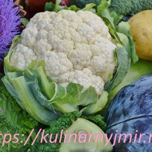 Запеканка из цветной капусты — одна из самых сытных овощных запеканок!