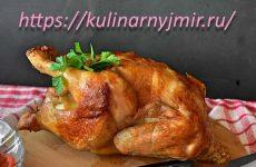 Курица, запеченная с ананасами — рецепт для праздничного стола!