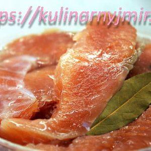 Красная рыба соленая — особенно нежная и вкусная!