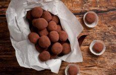 Шоколадные трюфели в какао — символ роскоши и тонкого вкуса!