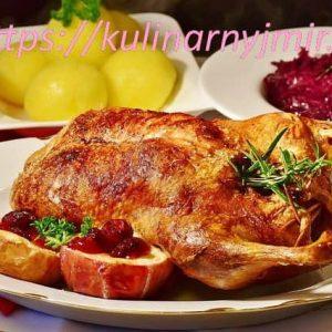 Утка на вертеле — замечательное блюдо!