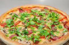 Пицца «Бавария» — невероятно вкусно, аппетитно, сытно и довольно просто!