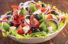 Греческий салат — отменный вкус!