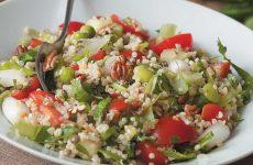 Салат с кускусом — питательно и так полезно!!!