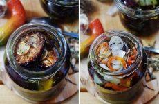 Вяленые сливы с чесноком, травами и солью — интересная и оригинальная закуска!