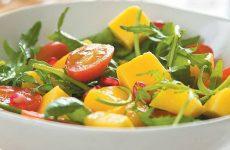 Итальянский салат из рукколы с манго — простой и вкусный рецепт!
