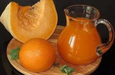 Тыквенный сок с апельсином — насыщенный цвет, потрясающий вкус!
