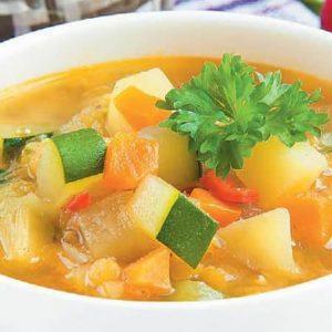 Овощной суп с чечевицей в мультиварке — получается очень вкусным и питательным!